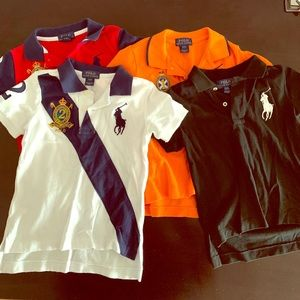 Toddler boys Polo by Ralph Lauren t-shirt bundle.